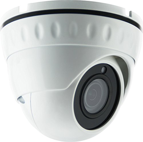 HDView 2.4MP 4-in-1 (TVI/AHD/CVI/960H) 1080P Outdoor SONY Sensor Wide Angle 2.8mm Fixed Lens Turbo Platinum Dome Camera