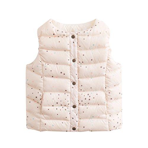 marc janie Baby Boys Girls Kids' Outerwear Ultra Light Down Vest 3T Many Stars