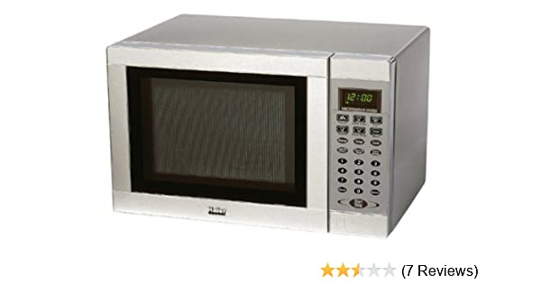 Amazon Com Haier Mwg7056tss 0 6 Cubic Foot 700 Watt Compact Microwave Stainless Steel Compact Microwave Ovens Kitchen Dining
