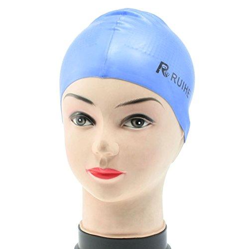 de para adultos elástica silicona suave Dodger natación Azul pYA4IB