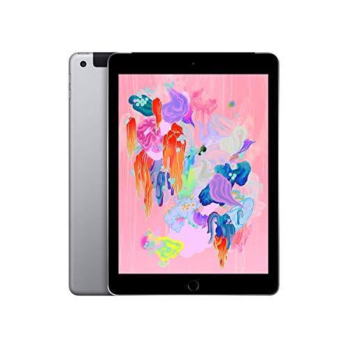 Apple iPad (Wi-Fi + Cellular, 32GB) - Space Gray (Latest Model)