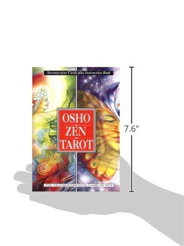 db23698ac97481 Amazon.com  Osho Zen Tarot  The Transcendental Game Of Zen (79-Card Deck  and 192-Page Book) (9780312117337)  Osho, Ma Deva Padma  Books