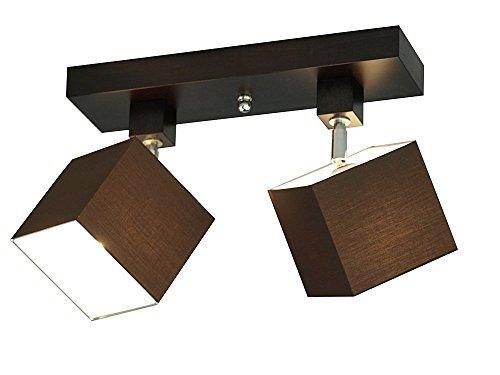 Lámpara de techo - Wero Design Vigo-006 Marrón - Luz de ...