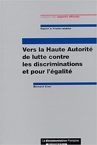 Livres gratuits en ligne Vers la Haute Autorité de lutte contre les discriminations et pour l'égalité epub pdf