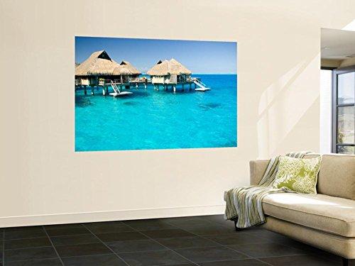 Bora Bora Nui Resort and Spa, Bora Bora, Society Islands, French Polynesia Wall Mural 48 x 72in by DANITA DELIMONT POD
