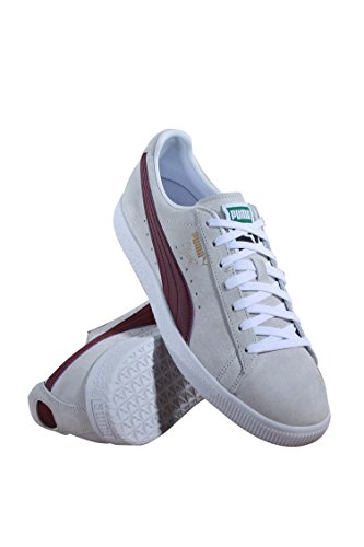 Men's Puma Sneakers Core Premium Cabernet Puma Select Clyde White 6q5B6gw