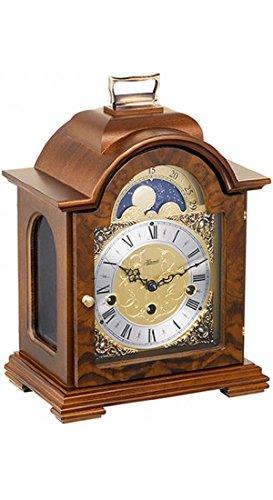 (Hermle 22864030340 Debden Table Clock - Walnut )