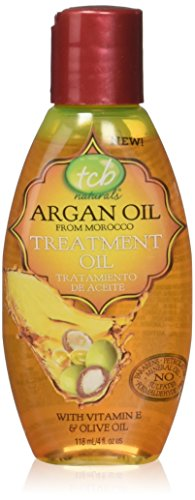 Tcb Naturals Olive Oil - TCB Naturals Argan Oil Treatment Oil, 4 Ounce