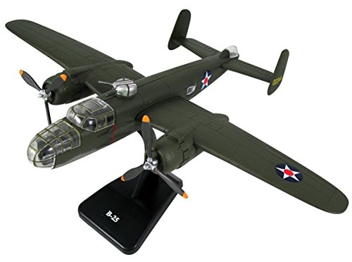 Classic B-25 Twin Engine Aircraft Model Kit Plane Set ()