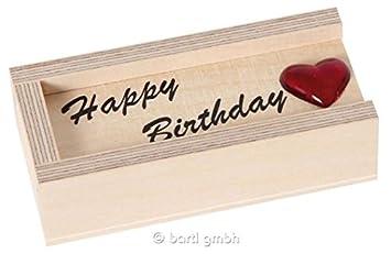Geldkiste Happy Birthay Geldgeschenk Zum Geburtstag Originell