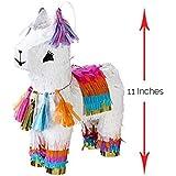 "Cinco de Mayo 波西米亚风格别致波西米亚装饰派对用品纸巾 llama decor Llama Pinata 11x7x3 In ""Multi"""