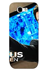 LIbPcHi9574nFGSc New Premium Flip Case Cover Forbes Olympus Has Fallen Skin Case For Galaxy Note 2 As Christmas's Gift