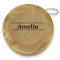 Dimension 9 Amelia Classic Wood Yoyo with Laser Engraving