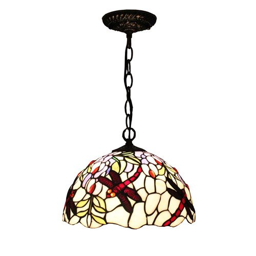 Antique Tiffany Hanging Lamp Value: Tiffany Style Chandeliers Lighting Handcrafted Victorian