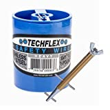 Clamptite Kit - CLT05 - 4 3/4'' Plated Steel/Aluminum Tool w/ Wingnut and 220 ft 1lb. Can of .041 Safety Wire