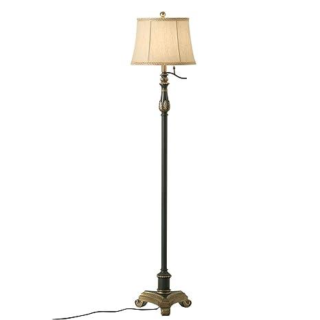 Lámpara de pie de Tela Tradicional - lámpara de Mesa ...