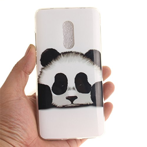 Hozor TPU Cas De panda Protection Souple Note Redmi Résistant Cas Fit Xiaomi 4X Peint Scratch Bord Arrière Antichoc Motif Couverture Slim Silicone De Téléphone En Transparent r40qrCx