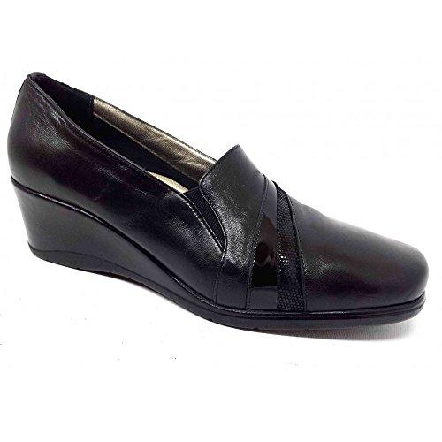 Confort Women's Loafer Flats Black black te8Ba2