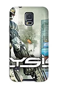 First-class Case Cover For Galaxy S5 Dual Protection Cover Crysis 2 Hd