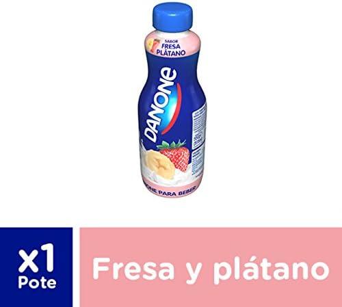 Danone para Beber Fresa Plátano, 550g: Amazon.es ...