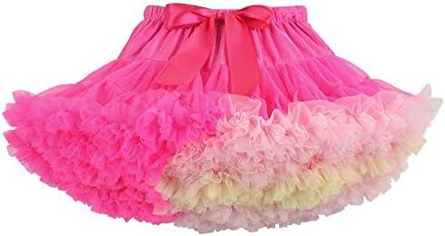 MILASIA Falda de Tul Faldas de Ballet para niñas Falda de tutú ...