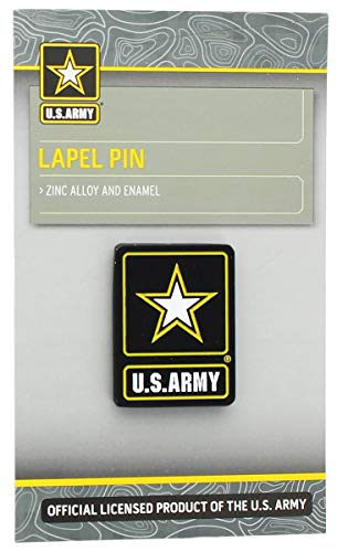 (Nerd Block U.S. Army Star Logo Lapel Pin)