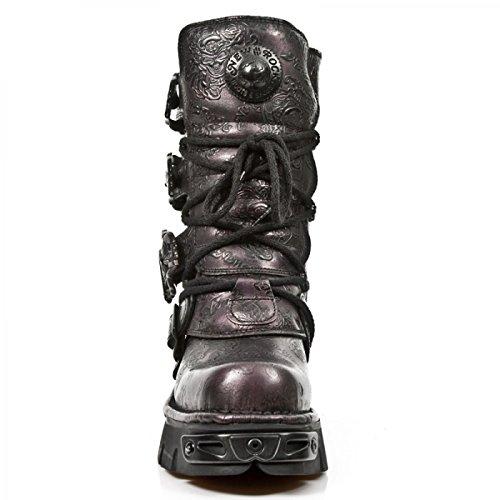 New Rock Laarzen M.391-s21 Gothic Hardrock Punk Unisex Stiefel Lila