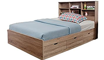 Y1402T X5 Smart Home Dark Taupe Twin Size 5 Piece Bedroom Set