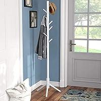 Vlush Coat Rack Free Standing, Coat Hat Tree Coat Hanger Holder Stand for Clothes,Scarves,Handbags,Umbrella