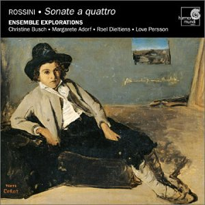 Rossini: Sonate a quattro (String Symphonies) - No. 1 in G Major; No. 2 in A Major; No. 4 in B-flat Major; No. 5 in E-flat Major