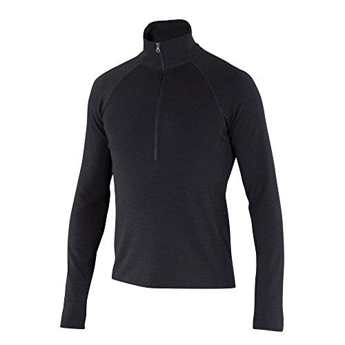 Ibex Northwest Pullover - Men's Black - Northwest Black Shirt