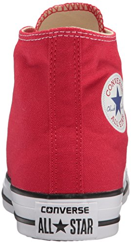 Altas Taylor Adulto Zapatillas Red All Star Rojo Chuck Converse Unisex Hi Core ScnaS1Z