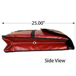 Thunder Group 24 x 24 Inch Pizza Bag holds 2 x 22 Inch Pizza