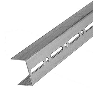 50mm x 3m CW-Profil Wandprofil St/änderwerkprofil Trockenbauprofil Gipskarton
