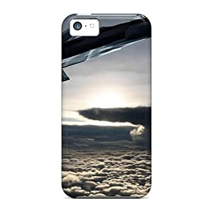 Iphone 5c WpZ5961jjiw Provide Private Custom Realistic Super Concept Russian Aircraft Pattern Protective Hard Cell-phone Case -SherriFakhry