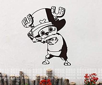 Hanhan Tony Chopper One Piece Voiture Stickers Muraux Dessin