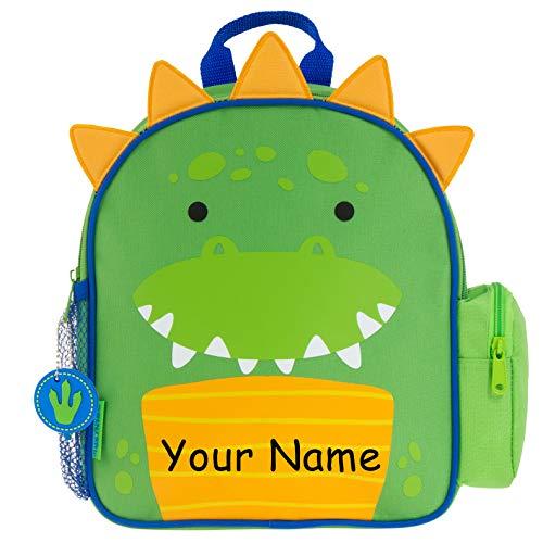 Stephen Joseph Personalized Mini Sidekick Dinosaur Dino Backpack