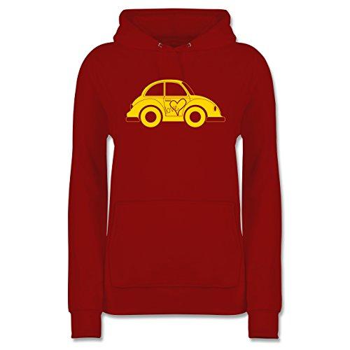 Shirtracer Autos - Liebes Beetle Auto - Damen Hoodie Rot