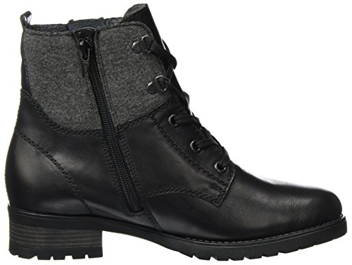 Black Remonte Grau 01 Biker D8278 Women's Boots Schwarz Schwarz qIrq6
