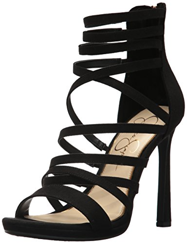 100% guaranteed cheap price Jessica Simpson Women's Palkaya Pump Black Micro outlet cheap clearance hot sale cheap wide range of iwa9OSCSz