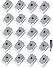 I clean 20 Packs iRobot i7 Bags,Compatible with iRobot Roomba i7 i7+/Plus s9+ (9550) Vacuum Clean Base Automatic Dirt Disposal Bags