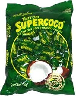 Amazon.com : BOMBON SUPERCOCO COCONUT CANDY LLOLYPOPS BAG OF ...