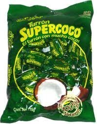 SUPER TURRON SUPERCOCO ALL NATURAL COCONUT CANDY 50 COUNT by Supercoco
