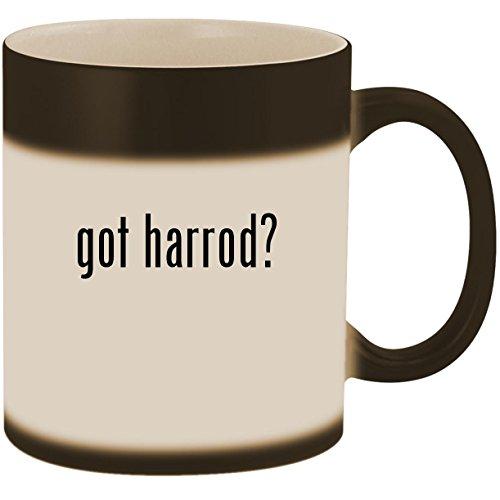 (got harrod? - 11oz Ceramic Color Changing Heat Sensitive Coffee Mug Cup, Matte Black)