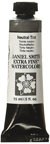 DANIEL SMITH Extra Fine Watercolor 15ml Paint Tube, Neutral - What Tint