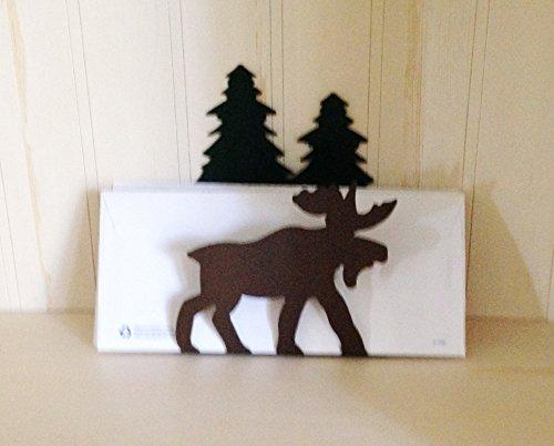Holder Moose Napkin (Moose Indoor/Outdoor Napkin Holder Organizer – Made in the USA)
