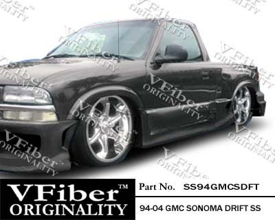 1994-2004 GMC Sonoma Pick-Up Body Kit Drift Side Skirt (Drift Vfiber)
