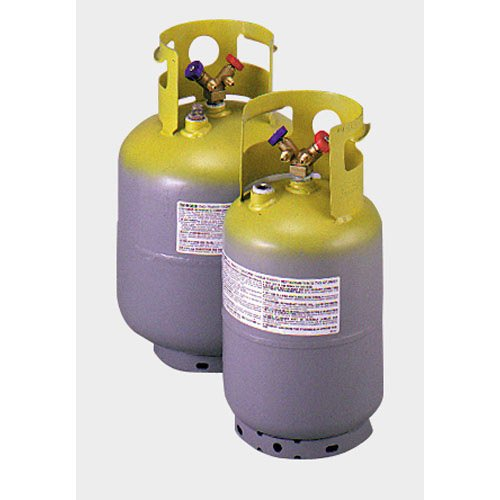 Recovery Cylinder - Yellow Jacket 95002 30 lb., yellow/gray, 1/4