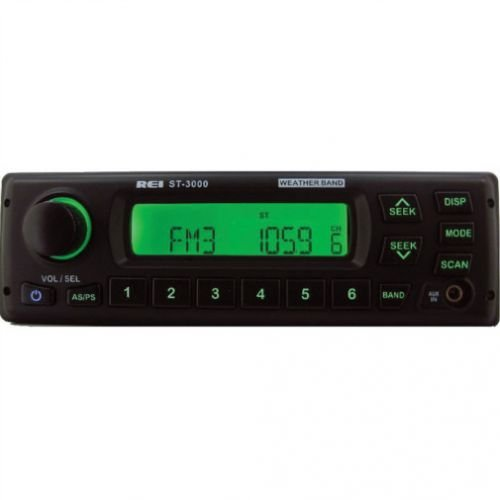 All States Ag REI Radio ST-3000 AM/FM/AUX Stereo w/D6 Con...
