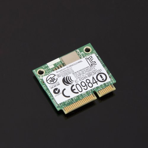 Brand New Dell DW 1510 PW934 Half-Size Mini Wireless PCi-E WiFi N 802.11AGN Card by for Dell